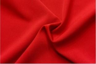 Ткань Габардин ,цвет красный 160 г/м2
