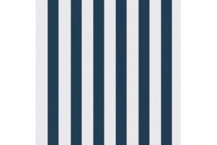 Таффета 190Т бело-синяя полоса
