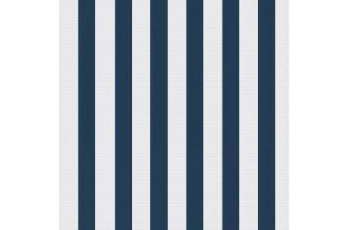 Ткань подкладочная Таффета 190Т цвет Бело-синяя полоса