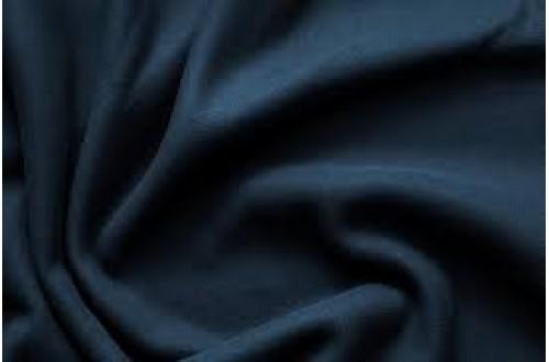 Ткань Флис с антипиллинговой отделкой, цвет темно-синий, 180 г/м2.