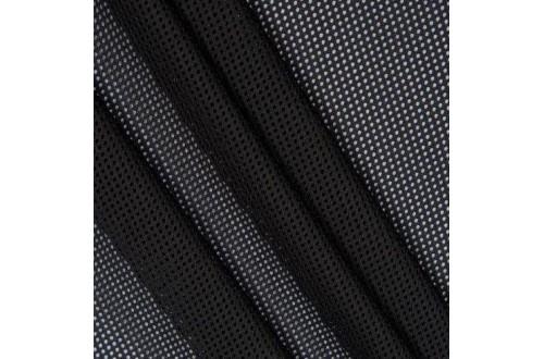 Сетка трикотажная, цвет черный  75 г/м2.