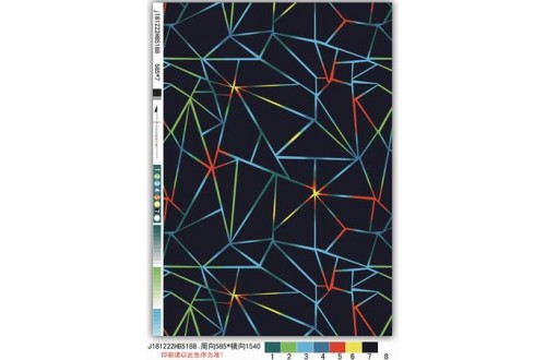 Оксфорд 210 D принт Тёмные треугольники