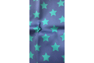 Оксфорд 210 D принт Голубые звёзды