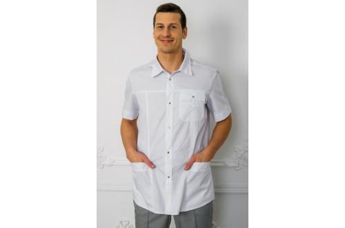 Блузон мужской Твил 160, Одежда для мед.работника
