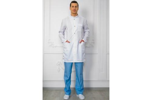 Халат мужской Твил 160, Одежда для мед.работника