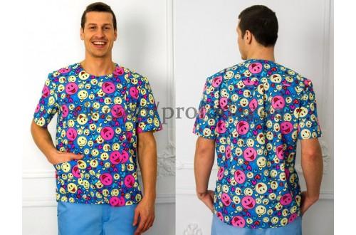 Блуза Принт, Одежда для мед.работника
