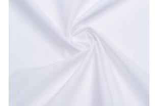 Ткань Габардин , цвет белый, 160 г/м2, №101.